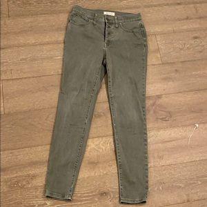 Madewell 9 inch high rise skinny jean